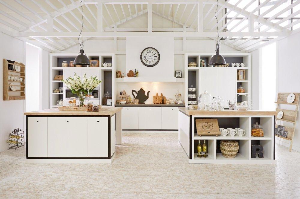 Natuursteen Ikea Keuken : Riverdale Keuken wit – Product in beeld – Startpagina voor keuken