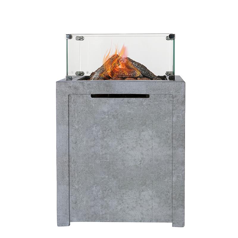 Robuuste vuurtafel Flare Concrete | Livin' Flame