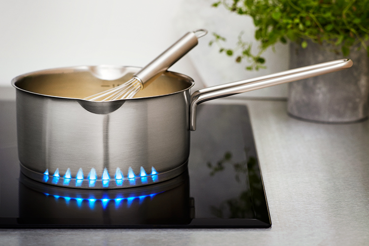 Samsung inductie kookplaat Virtual Flame-Chef Collection