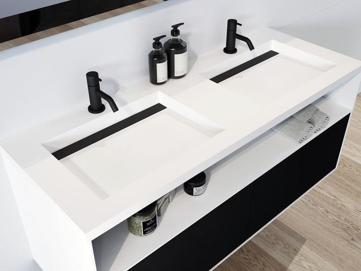 Badkamerstijl in zwart en wit | Sanidrõme