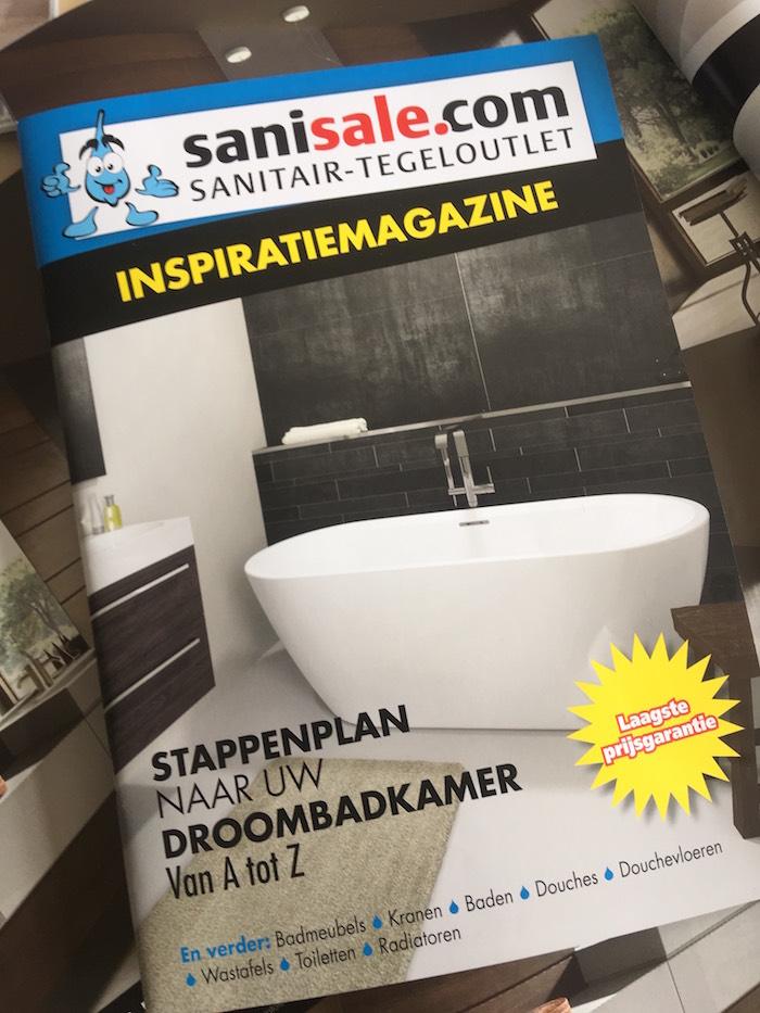 Sanisale badkamerinspiratie magazine