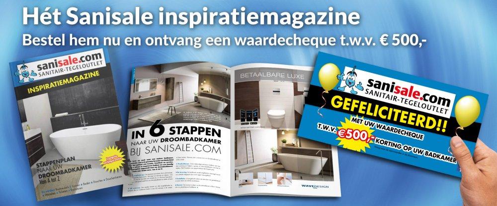 Sanisale badkamerinspiratie magazine - Product in beeld ...