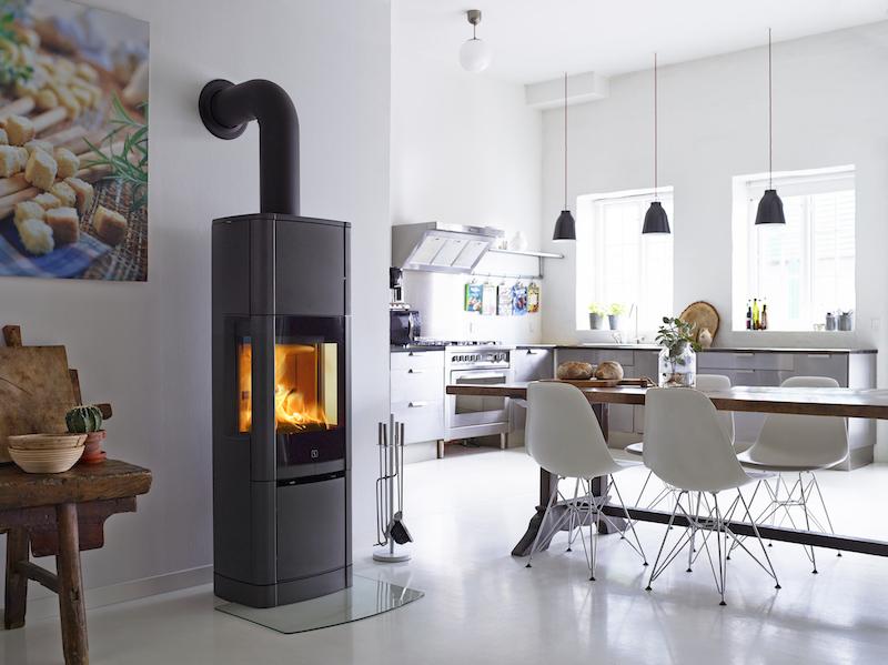 Scan 65 houtkachel hoog Heat Storage System