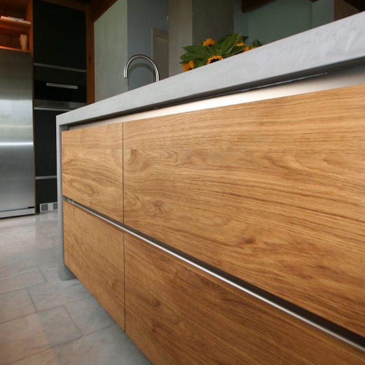 Greeploze industriële keuken | Schoonhoven keukens