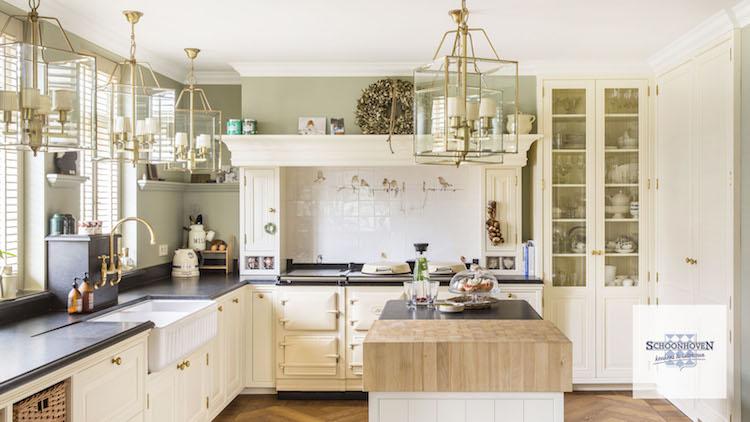Klassiek landleven keukens product in beeld startpagina voor