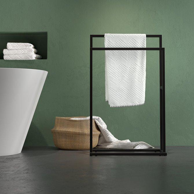 Handdoekrek Carré  | Sealskin