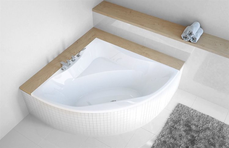 Sealskin | Modern hoekbad