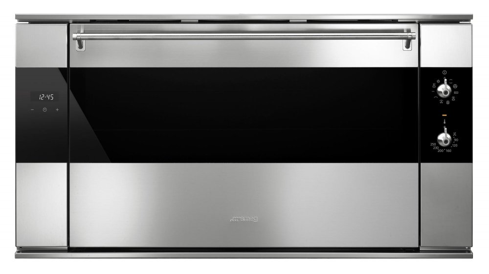 Smeg 90 cm multifunctionele oven SF9315XR