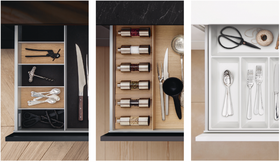 SieMatic Inside keuken interieursystemen