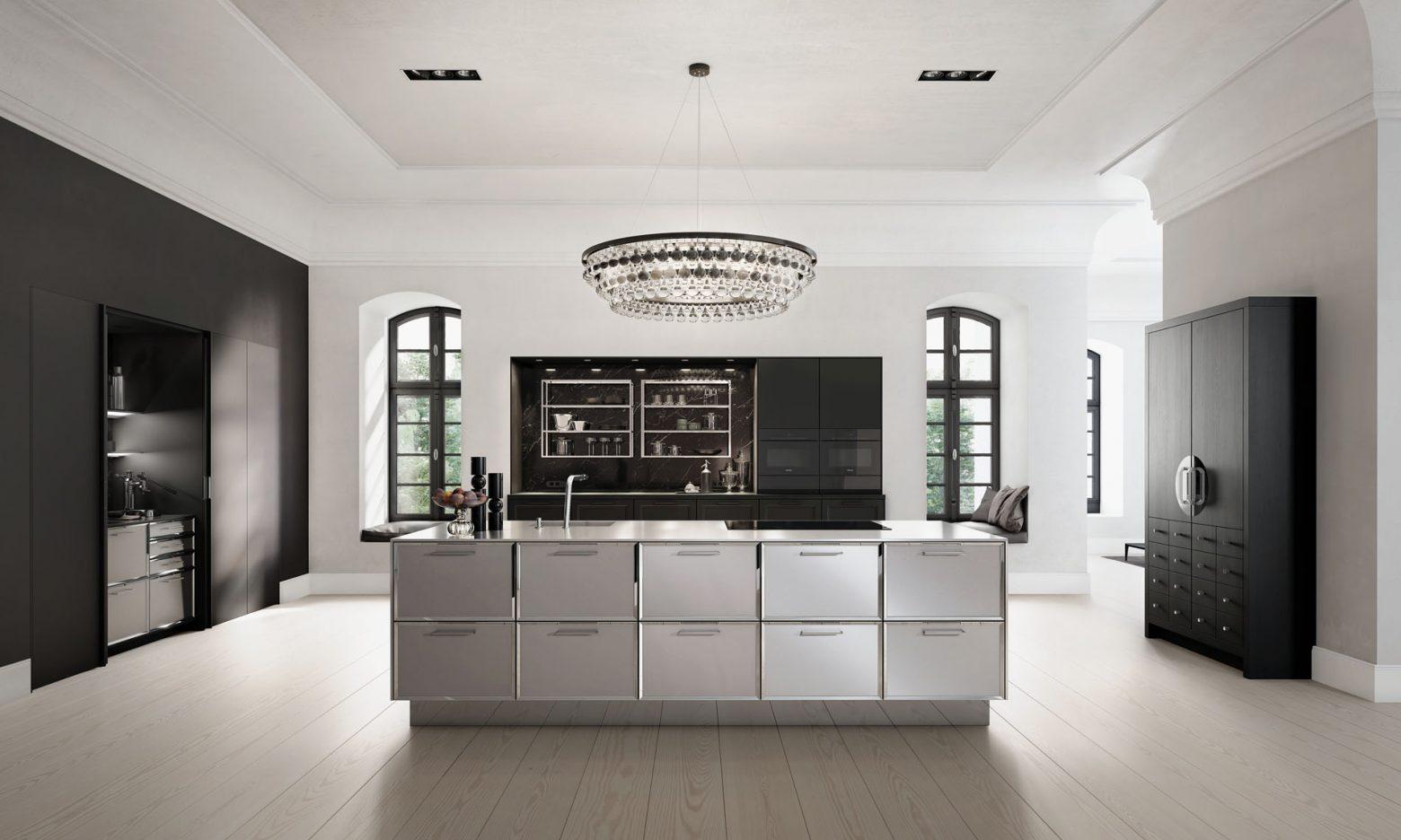 SieMatic keukens in zwarte contrasten