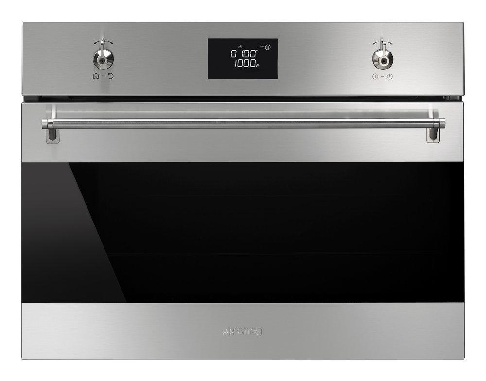 smeg classici inbouwoven met magnetronfunctie 45cm product in beeld startpagina voor keuken. Black Bedroom Furniture Sets. Home Design Ideas