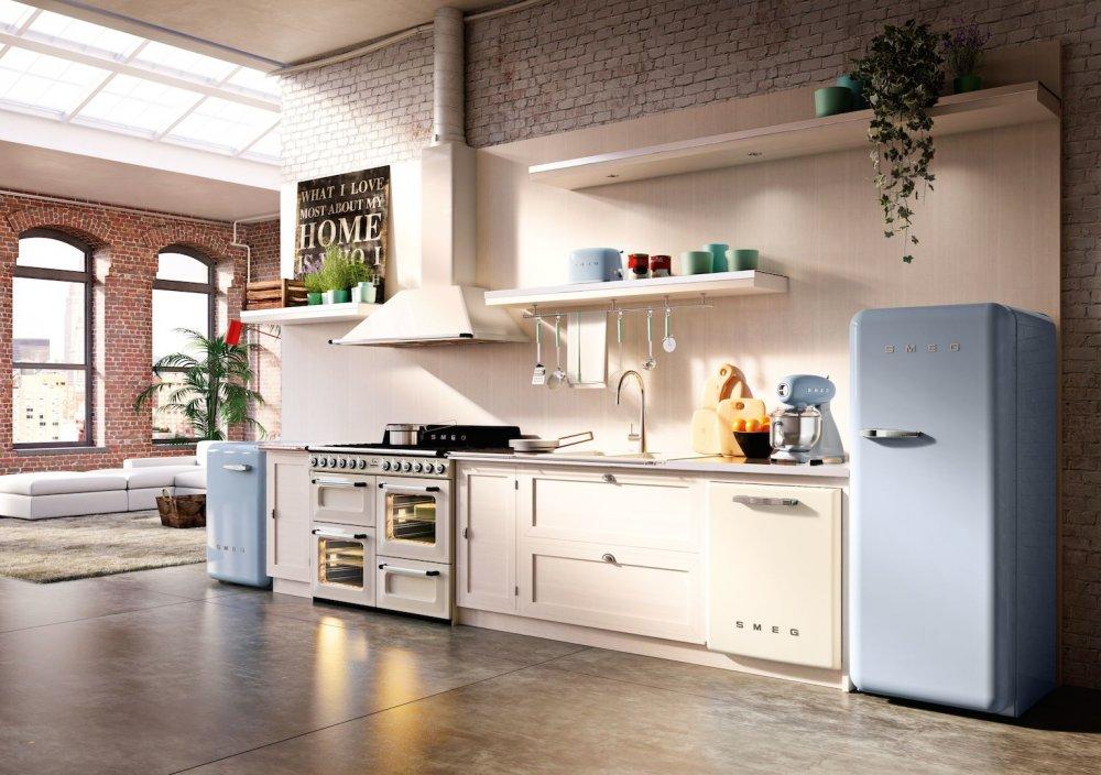 smeg keukenapparatuur jaren 50 product in beeld startpagina voor keuken idee n uw. Black Bedroom Furniture Sets. Home Design Ideas