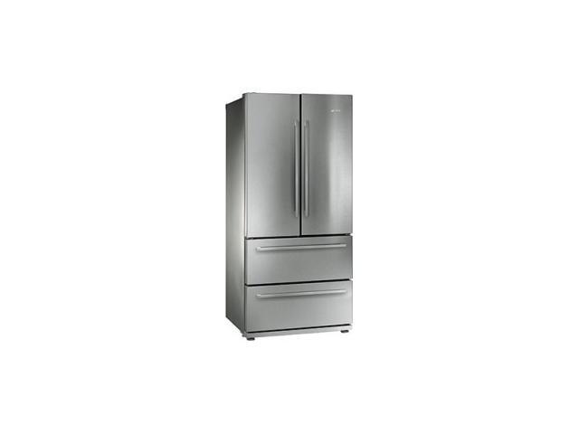 Smeg vrijstaande koel vriescombinatie fq55fx1 uw woonidee for Interieur frigo smeg