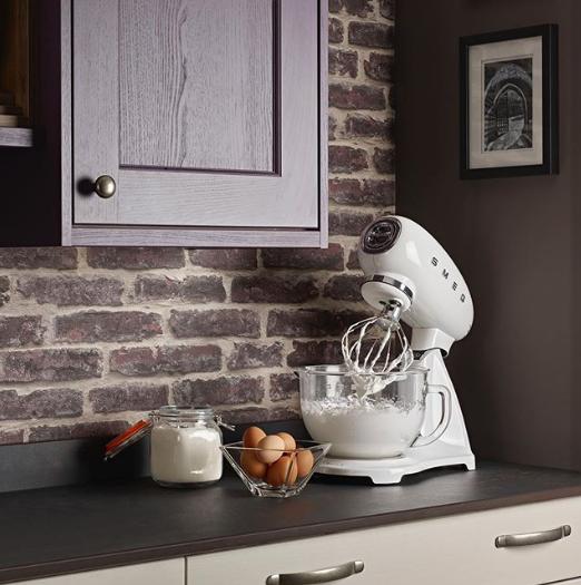 Witte keukenmachine | Smeg