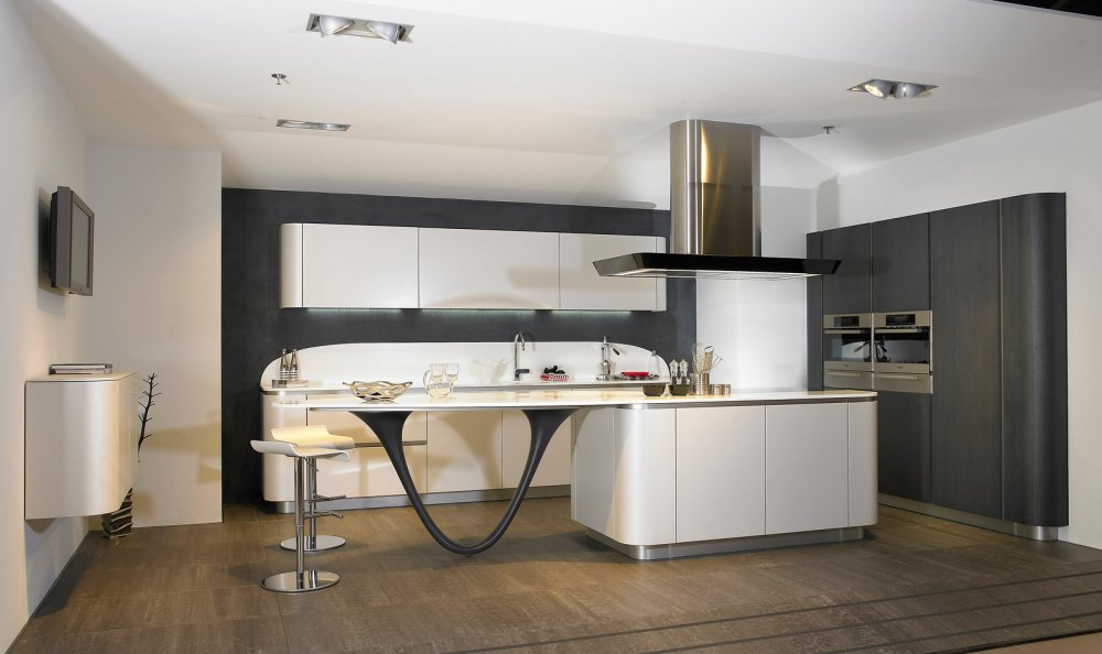 Espresso Kitchen Island Snaidero Ola By Tieleman Keukens Product In Beeld
