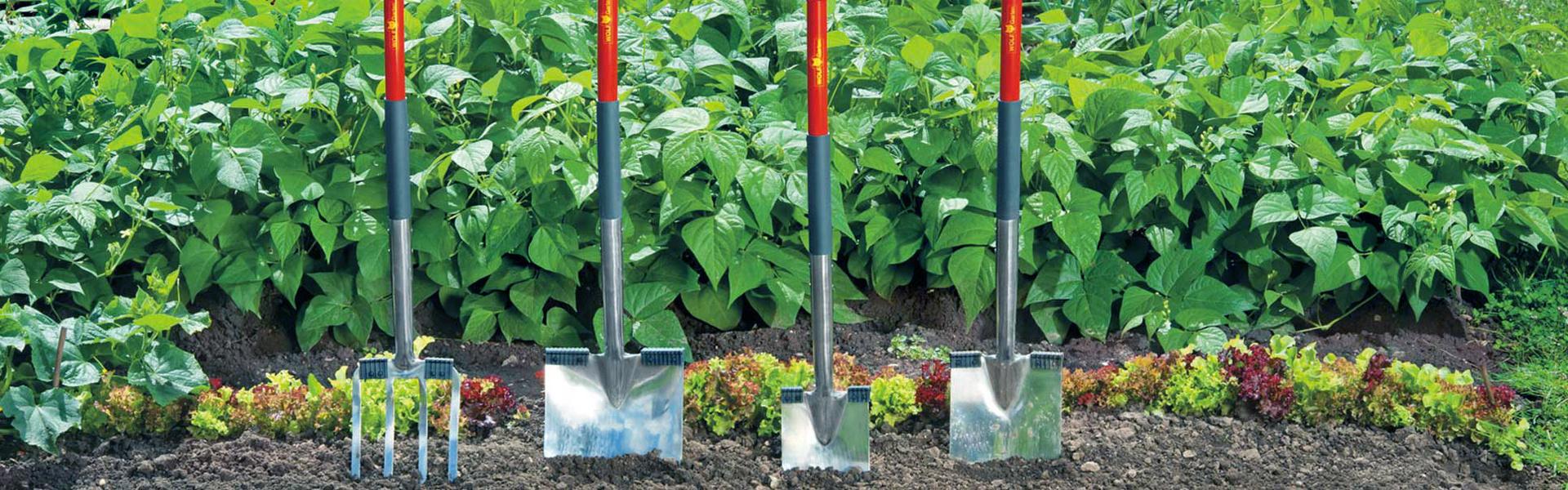 Spaden, schoppen en vorken ǀ WOLF-Garten
