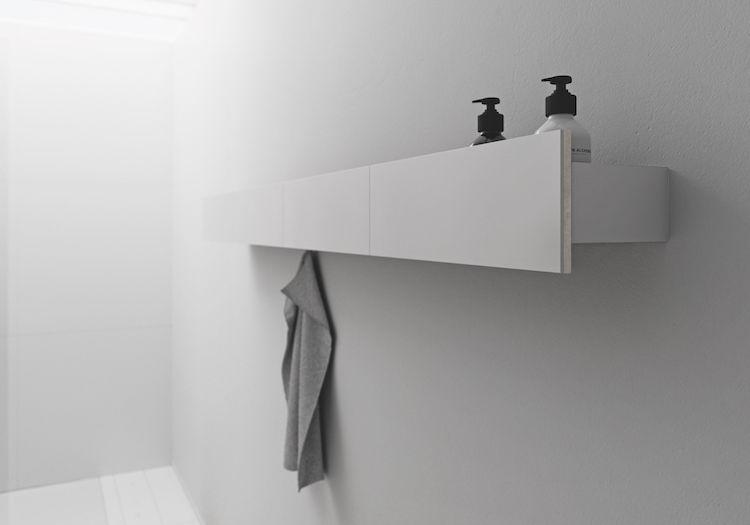Flexibele opbergruimte voor badkamer | Sphinx