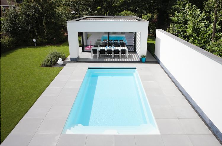 Tijdloos rechthoekig zwembad | Starline