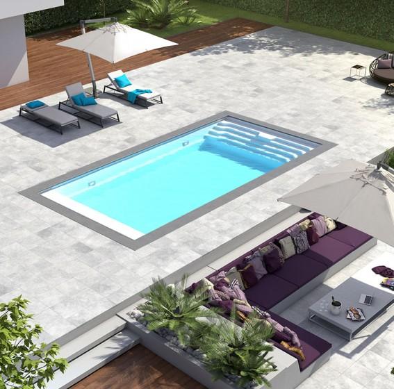 Zwembad met hoge waterlijn | Starline