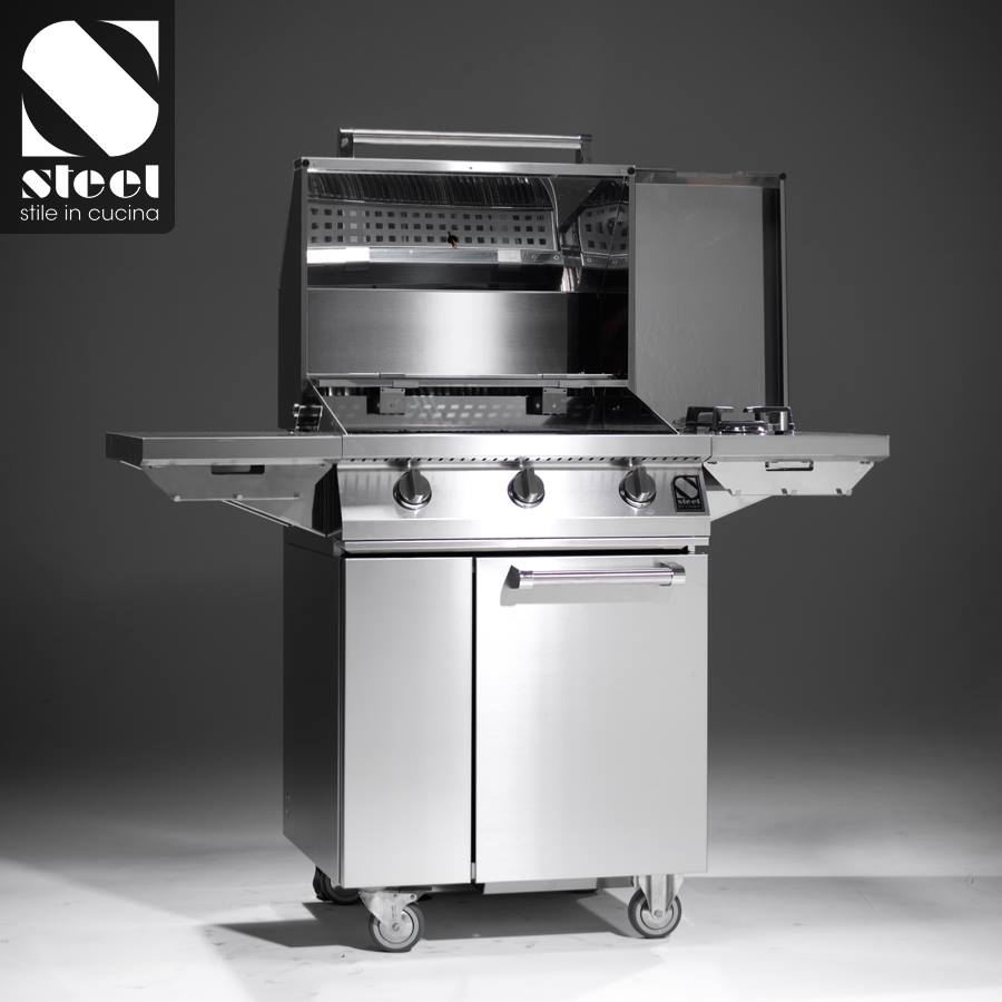Steel BBQ & exclusieve outdoor kitchen
