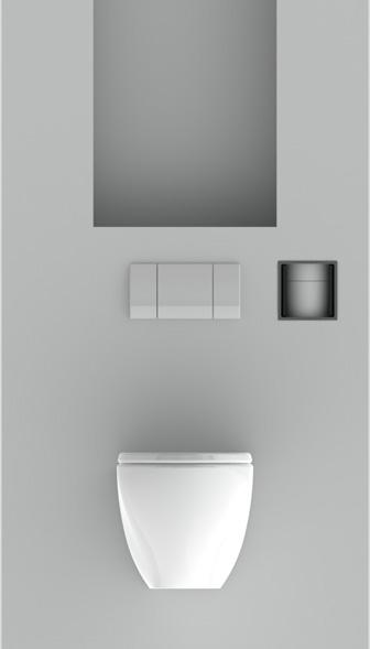 Innovatieve inbouwdispenser voor toiletrollen | Stock4Rolls®