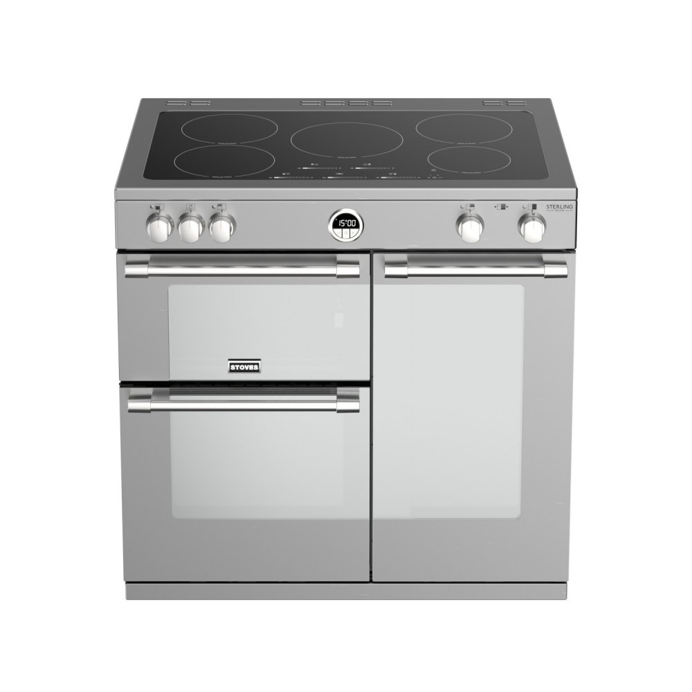Stoves Sterling Deluxe fornuis inductie en gas