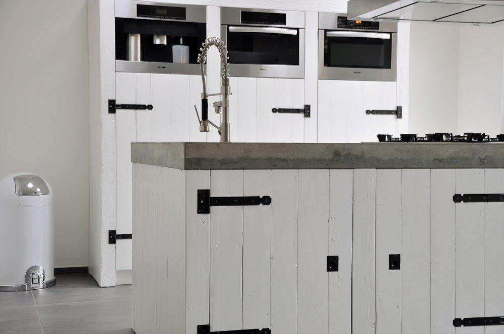 Keuken Steigerhout Wit : Keuken Werkblad