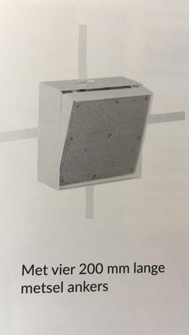 stucbaar inspectieluik in verschillende formaten