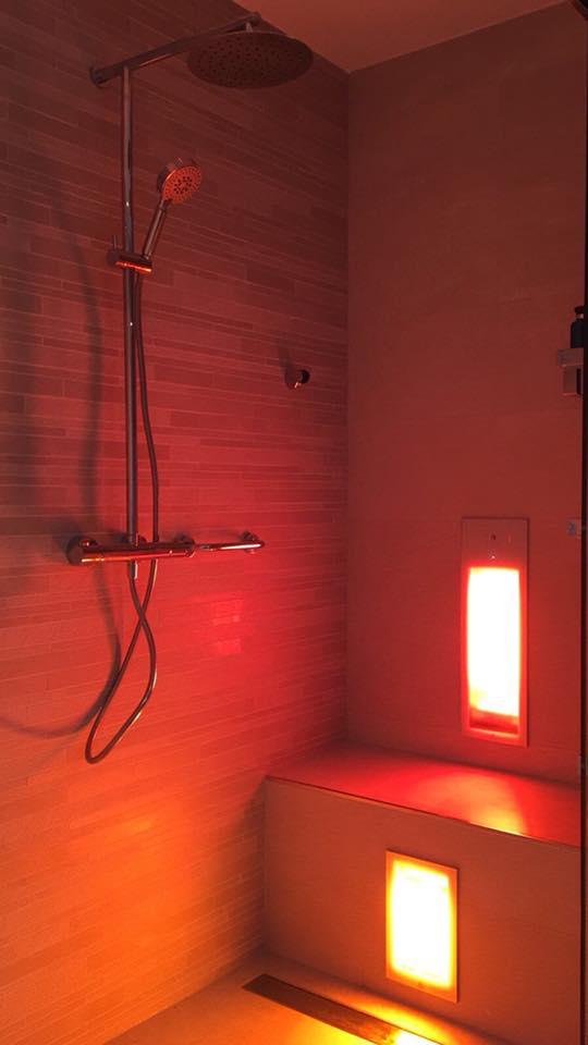Ontspannen infrarood douche | Sunshower