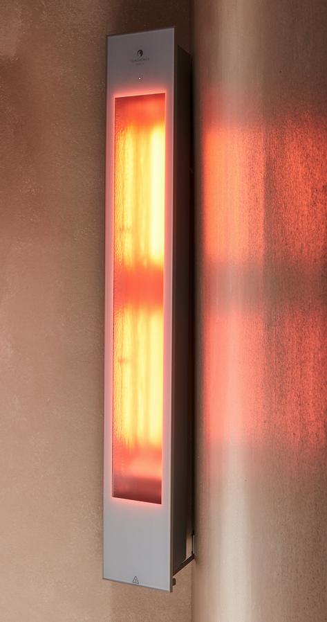 Sunshower Solo hoek opbouw