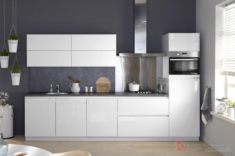 Superkeukens sorrento plus product in beeld startpagina voor keuken idee n uw - Model keuken wit gelakt ...
