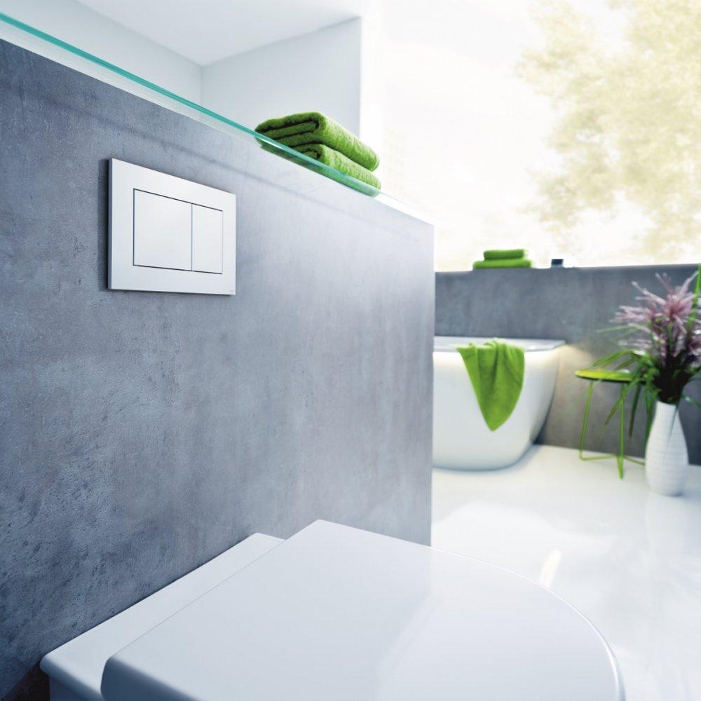 TECEnow wc-bedieningsplaat