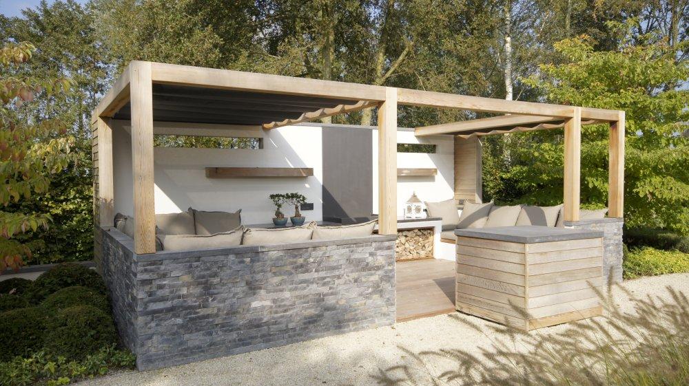 Terrasoverkapping solem van luxxout product in beeld startpagina voor tuin idee n uw - Tuin interieur design ...