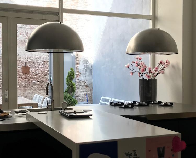 Recirculatiekap met bijpassende lamp | Teslion