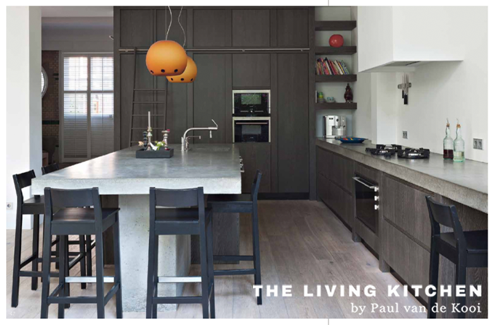 Rustiek 3-lagen eiken keuken | The Living Kitchen