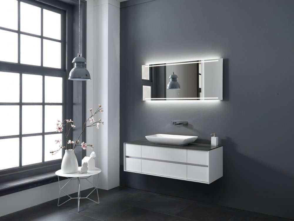 Grijs Beige Badkamer : Wastafelblad grijs het mooiste interieur bij u ...