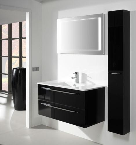 Thebalux badkamermeubel ceramic line 100 product in for Spiegelkast voor badkamer