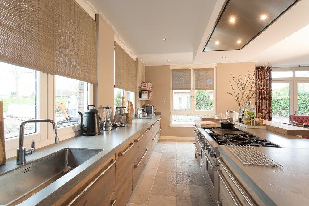 Tieleman houten woonkeuken model welsh product in beeld startpagina voor keuken idee n uw - Deco keuken oud land ...