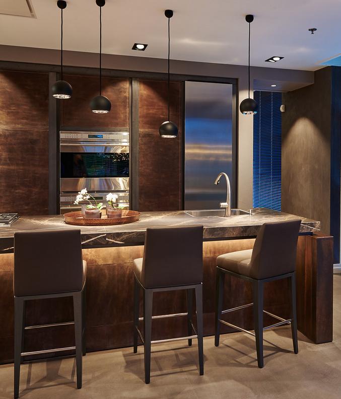 Tieleman Keukens Luxe keuken Corio met natuurlijke materialen