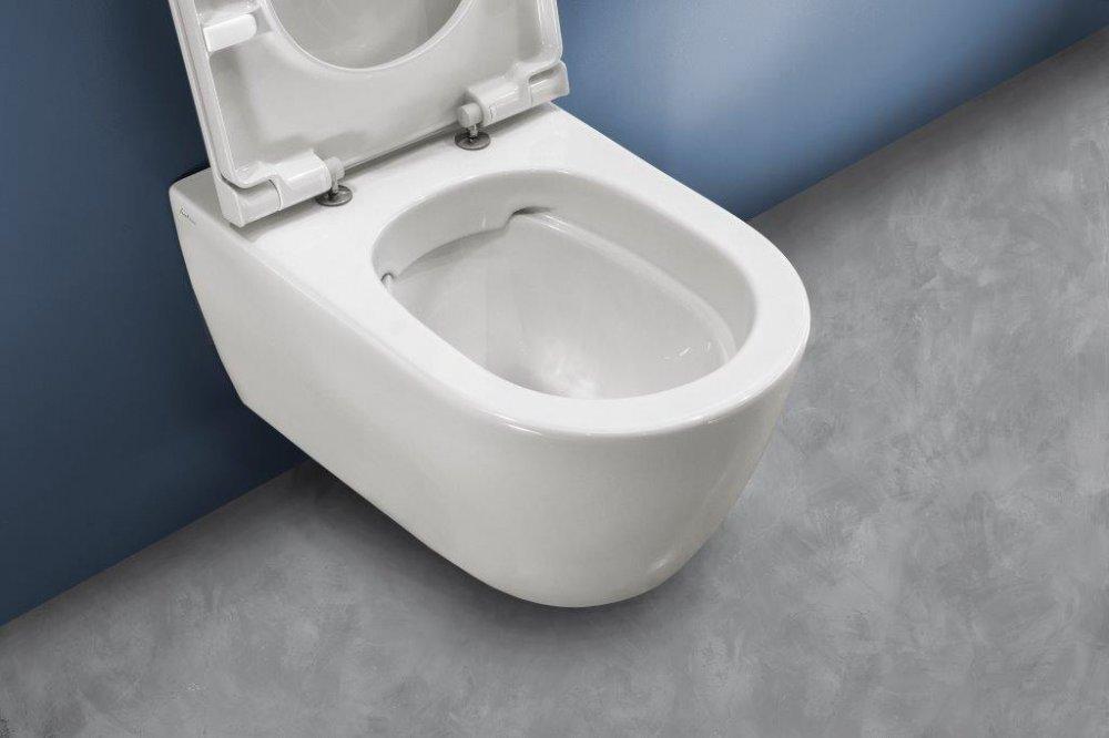 Toilet Zonder Spoelrand : Toilet fusion pure rim met vrije spoelrand product in beeld