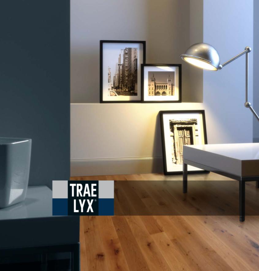 Glasheldere blanke lak | TRAE LYX