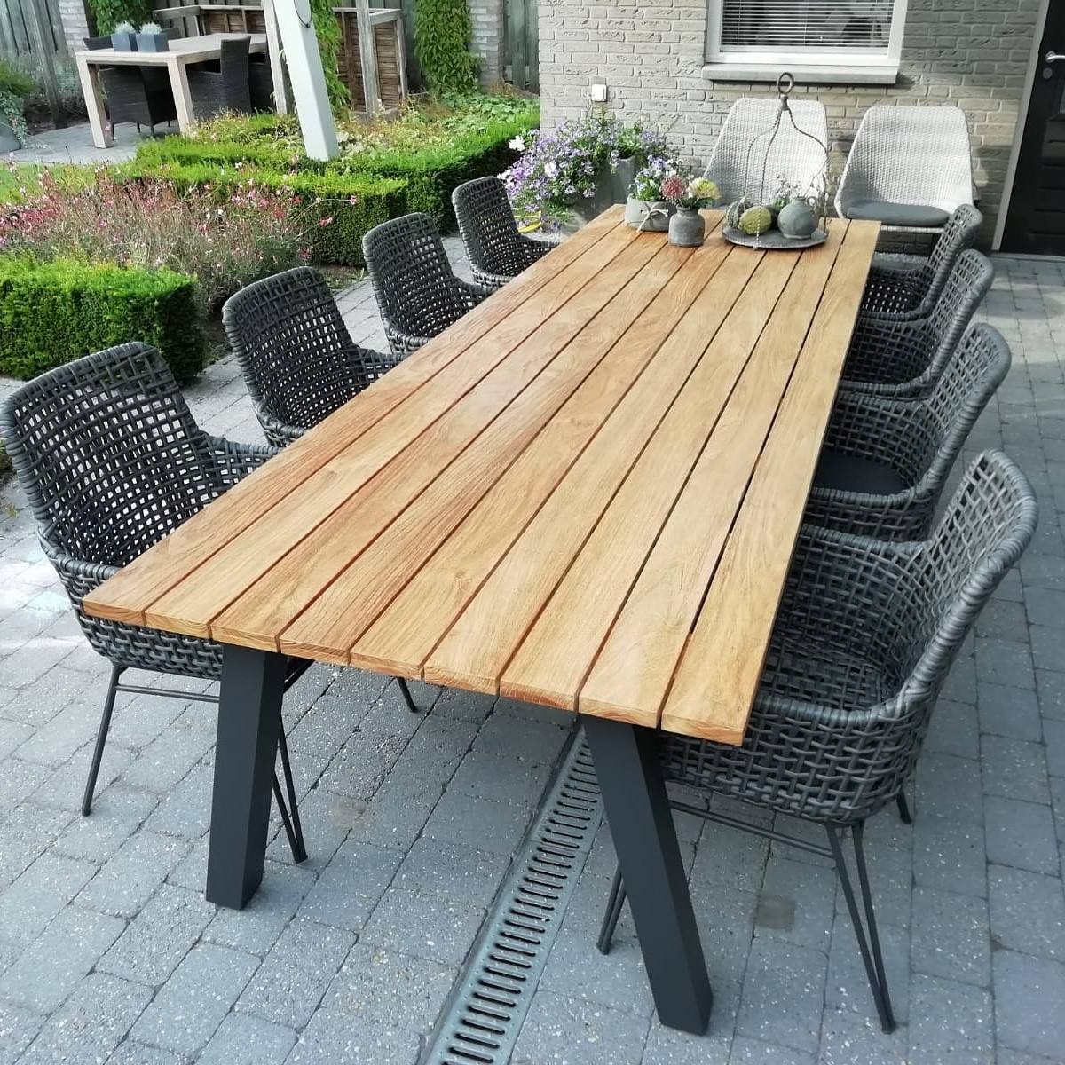 Tuintafel Industriele look