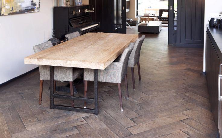 Uipkes eiken houten vloer op vloerverwarming product in beeld startpagina voor - Hardhouten vloeren vloerverwarming ...