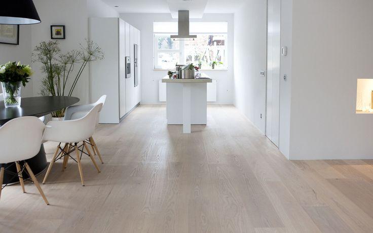 Uipkes houten vloer Amerikaans essenhout