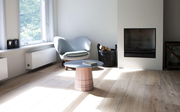 Woonkamer Rustiek : Uipkes rustiek Frans eiken houten vloer naturel ...