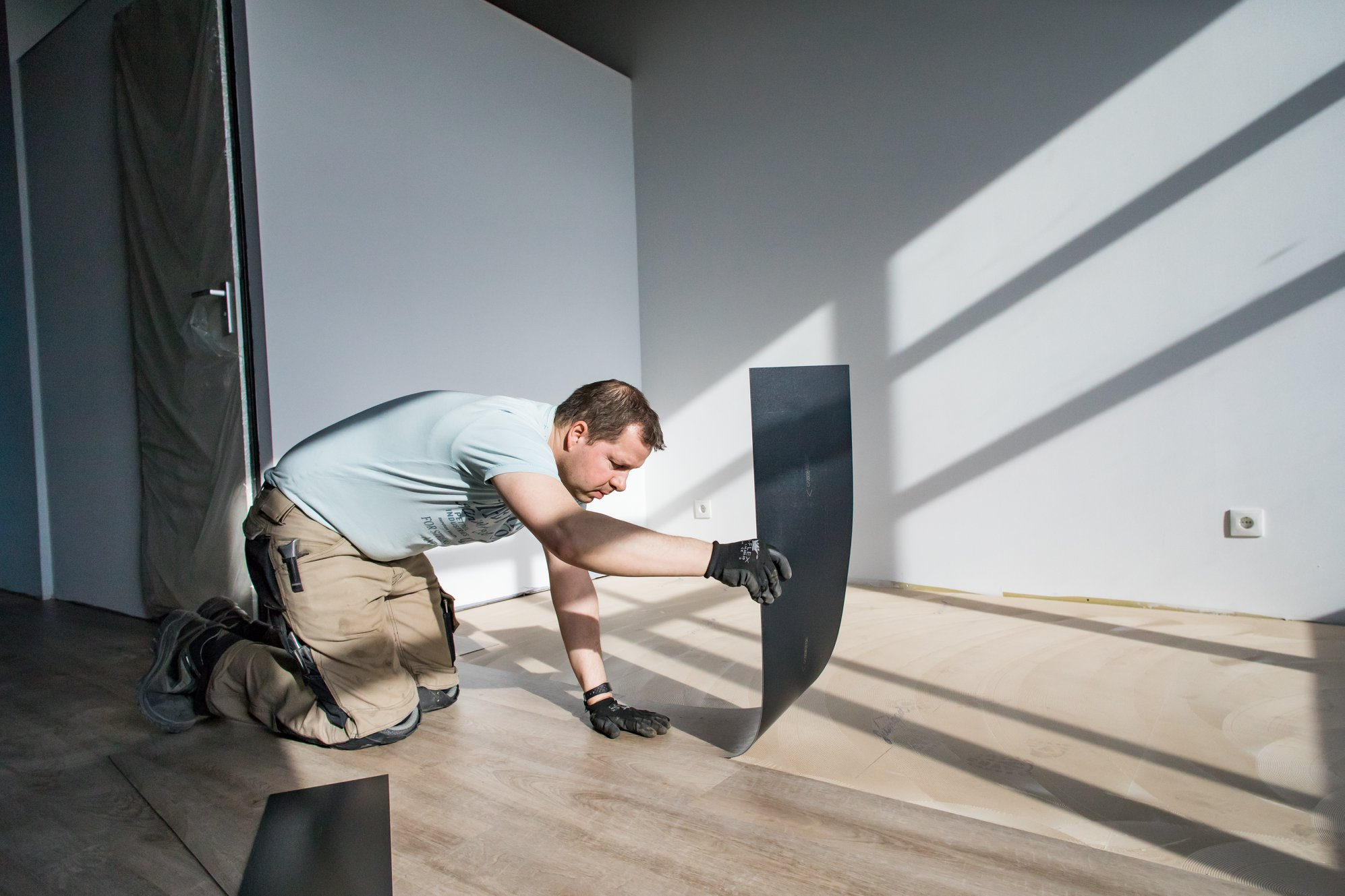 Egaliserende ondervloer voor PVC | Unifloor