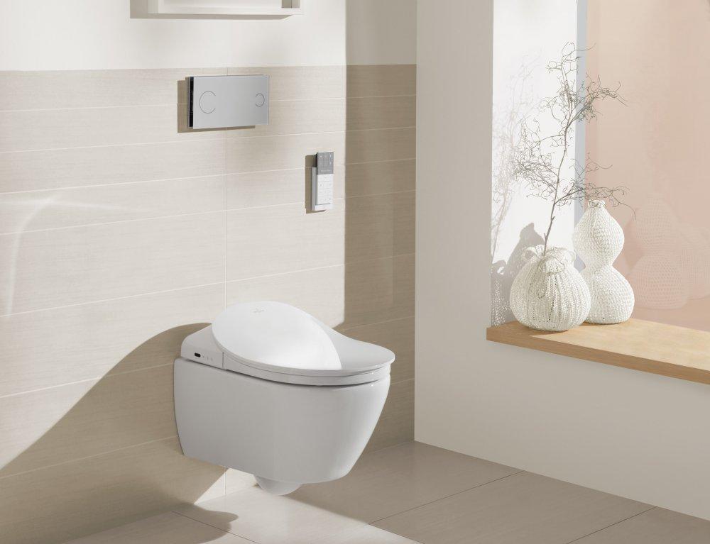 ViClean van Villeroy & Boch: toilet en bidet