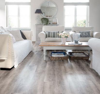 Viligno LVT Reclaimed grey oak vinyl vloer