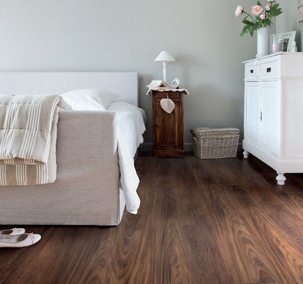 Viligno Vinyl vloer LVT Dark brown oak