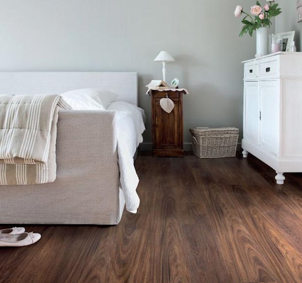 Viligno Vinyl vloer LVT Dark brown oak